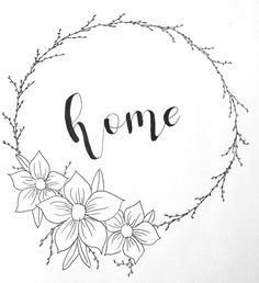 pretty calligraphy done by me norah xu! – Gislaine Santos – pretty calligraphy done by me norah xu! Floral Embroidery Patterns, Hand Embroidery Designs, Embroidery Art, Flower Patterns, Embroidery Stitches, Machine Embroidery, Calligraphy Doodles, Calligraphy Flowers, Wreath Drawing