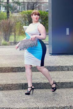 Plus Size Fashion - http://luziehtan.de/2015/05/outfit-color-blocks/