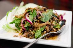 Larb Pla Dook ($11) | How I Learned to Stop Ordering 'Thai spicy'