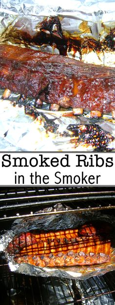 These delicious smoked ribs take about 6 hours to make from start to finish!