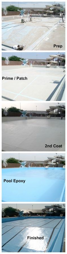 DIY Swimming Pool Waterproofing & Repair