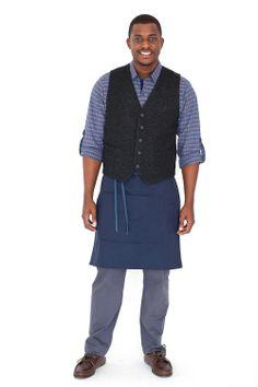 Hem + Grommet Custom Uniform Design: Male Server