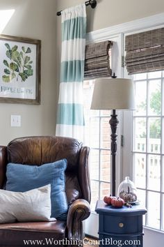 DIY Budget Friendly Window Treatment And Easy Hardware