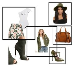 """""""Square Biz"""" by browndressup-doll on Polyvore featuring Gucci, BLANKNYC, Lisa Marie Fernandez, LULUS, Cape Robbin and ALDO"""