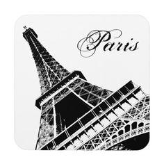 De toren Parijs van Eiffel Onderzetter
