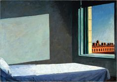 Adios Edward Hopper. Image used in the film in combination with Morning Sun.