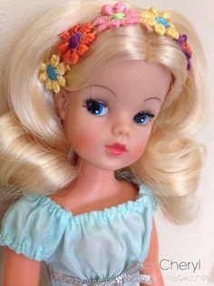 Rerooted trendy girl Sindy