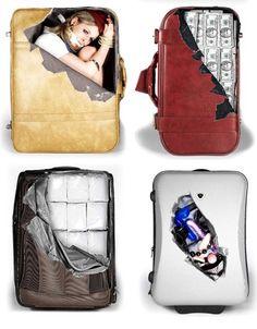 Si eres de los que les cuesta reconocer la maleta en la recogida de equipajes del aeropuerto, suitcase strickers (thecheeky.com) sonunos adhesivos para customizar tu bolsa y que sea fácilmente identificable. Seguro que con esto, haré nuevos amigos. *countdownholidays*