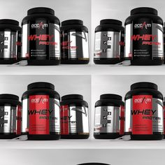 Challenge: create simple label that conveys key points for Protein Supplement by gabson