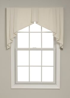 Box Pleated Tapered Valance