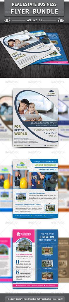 Real Estate Business Flyer | Bundle 1