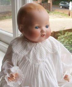 vintage+bisque+baby+dolls | Armand Marseille Bisque Head Doll Vintage C 1920 Dream Baby