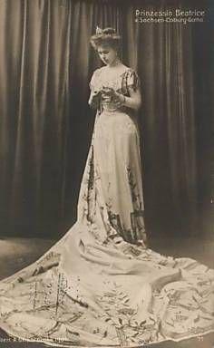 Princesa Beatrice de Saxe-Coburgo e Gotha.