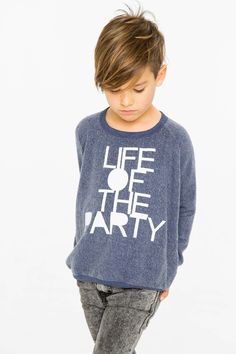 Life of The Party Kid's Fleece Long Sleeve Shirt Boy Haircuts Long, Little Boy Hairstyles, Boys Long Hairstyles, Work Hairstyles, Straight Hairstyles, Biy Haircuts, Young Boy Haircuts, Cool Boys Haircuts, Kids Hairstyle