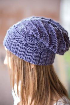 """Life would be boring if everything in front of you were a smooth path! Once in a while, a little knot will wait ahead that needs to be mastered - tackle it and move on... until the next one pops up! Mostly smooth sailing with the occasional knot challenge here and there at predictable intervals - that's """"Knots!"""" a super easy slouchy hat perfectly suitable for beginners and beyond. The pattern instructions are charted and written out, so choose your favorite method to follow. Be brave and…"""
