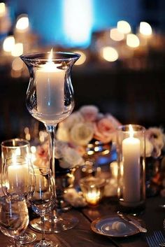 evening candles