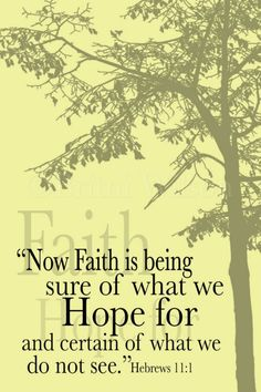 Faith and Hope