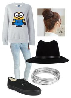 Untitled #118 by h-akther on Polyvore featuring Steve J & Yoni P, Charlotte Russe, Vans, Worthington, rag & bone and Pin Show