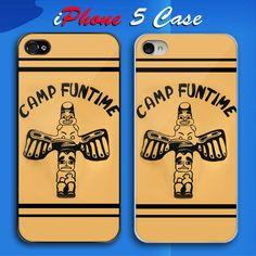 CAMP FUNTIME Custom iPhone 5 Case Cover