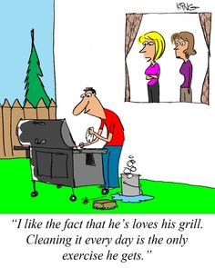 Sunday Morning Comics from Cooking Outdoors01 photo