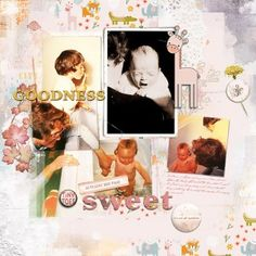 Motherhood by Lynn Grieveson at The Lilypad, using Forever Joy Baby Love kit, Bliss Gesso by Paula Kesselring and template and transfers from Lynn Grieveson Designs.