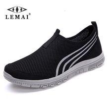 bb072e96 LEMAI 2017 NEW Fashion Men casual shoes, Men's flats Shoes men breathable  lovers Casual Shoes