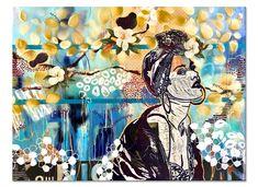 International Artist, Contemporary Paintings, Modern Art, Portraits, Inspiration, Abstract Art, Art Club, Magnolias, Woodblock Print