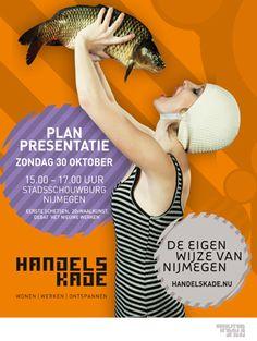 Poster voor Handelskade, Nijmegen