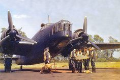 The Vickers Wellington heavy bomber was Britain's main bomber at the outbreak of the war.