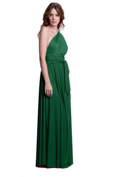 The Sakura Convertible Long Gown Dress is perfect for more formal occasions and embraces the maxi dress trend. #henkaa #convertible #dress #style #fashion #bridesmaid #maxi $158.00 www.henkaa.com