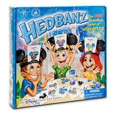 Our other favorite game is the Disney Parks edition of HedBanz!  If you haven't been to a Disney Park there is a standard Disney version as well! #Disney