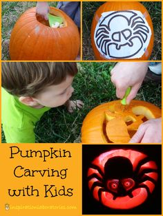 Pumpkin Carving with Kids with #PumpkinMastersKit