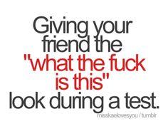 I so had days like this in nursing school!! lol