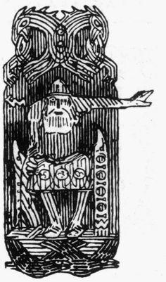 Odin, Gerhard Munthe