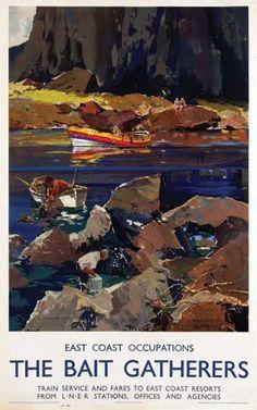The Bait Gatherers - LNER - 1947 - (Frank H. Mason)