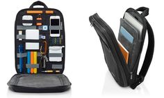 GRID-IT Organization Laptop SLIM Backpack By Cocoon…