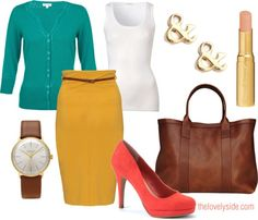 The Lovely Side: Pencil It In | Working the Pencil Skirt into Your Work Attire, Including 25 Examples with Dos and Donts