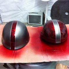 After. Carbon fiber, with reaper black covered in red candy.
