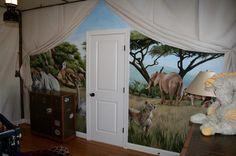 #Safari Destination Decor Inspiration// safari nursery or child's room <3
