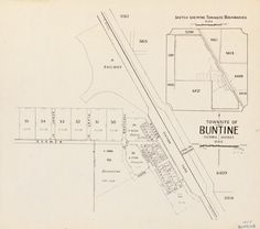 BUNTINE. Circa 1955 Cadastral map showing land use. Includes sketch showing townsite boundaries, scale [1:15 840. 1 in. = 20 chains] Part of collection: Townsite maps, Western Australia.  https://encore.slwa.wa.gov.au/iii/encore/record/C__Rb1867077