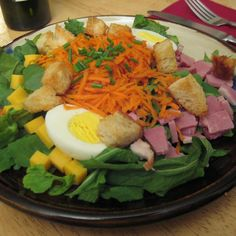 Chef Salad - Pancho's Taco - Zmenu, The Most Comprehensive Menu With Photos