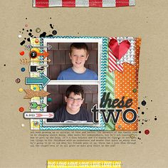 6 Ways to Embellish Scrapbook Pages Using a Series Cluster | Celeste Smith | Get It Scrapped