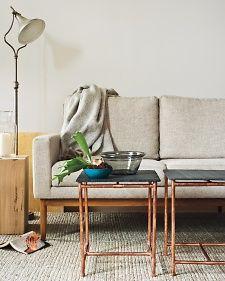 Industrial-Chic Table - Martha Stewart Crafts