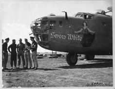 """20 original images of the sexiest Nose Art of B-24 Liberators which were involved in """"Operation Tidal Wave"""""""