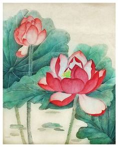 "[Selected Submission] Meticulous Painting: ""Lotus Flower"" 