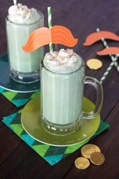 Creamy Coconut Lime Floats