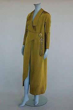 Coat, Paul Poiret, 1911 Musée Galliera de la Mode da la Ville de Paris