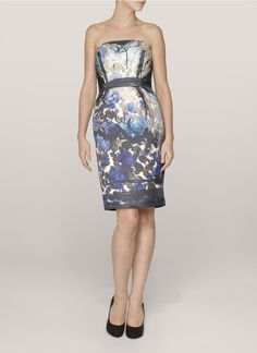 LanvinFloral-print dress
