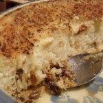Custard Rice Pudding / recipe - original recipe found in Betty Crocker's New Picture Cook Book (1961)