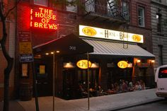 The House of Brews  302 W. 51st St. (Eighth Ave.)  New York, NY  (212) 541-7080  HouseofBrewsNY.com